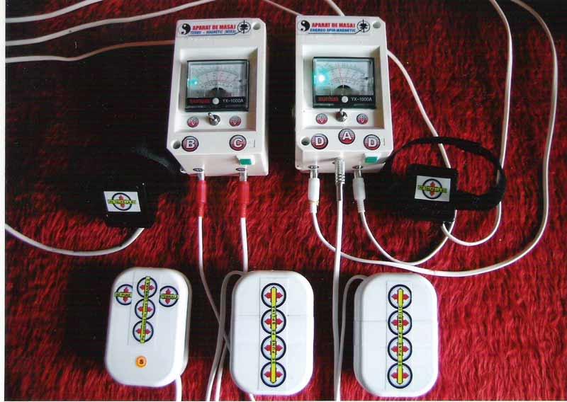 Stimulator energo-spin-magnetic