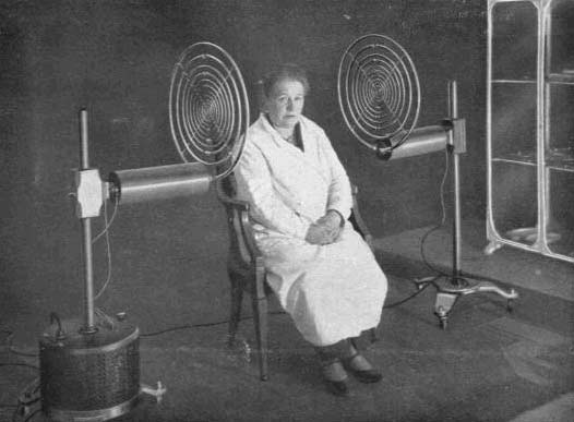 Georges Lakhovsky. Electroterapia